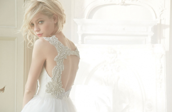 Hayley Paige Bridal Fall 2013 Wedding Dresses HP6350