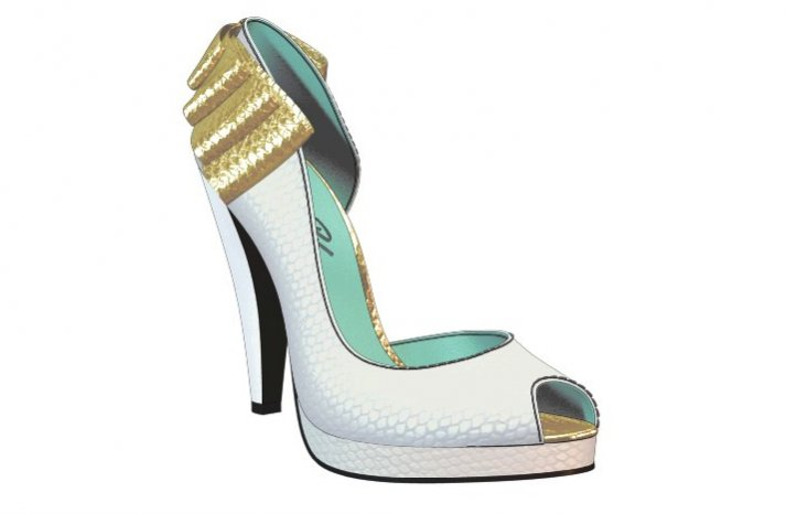 Custom wedding accessories for brides Shoes of Prey 1