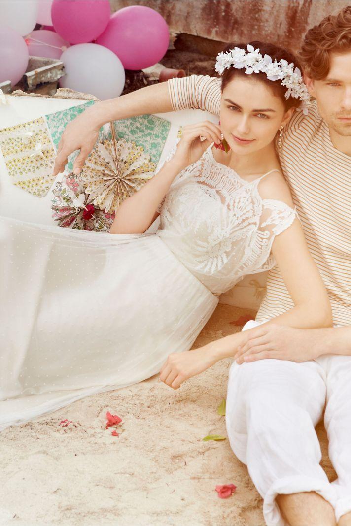 Omelia wedding dress by BHLDN