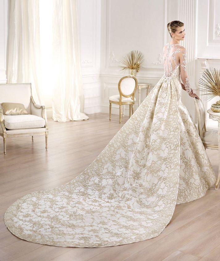 Yolima wedding dress by Atelier Pronovias 2014 bridal