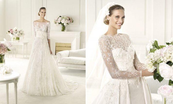 0ceb57f32048d Elie Saab 2014 wedding dresses from Pronovias bridal