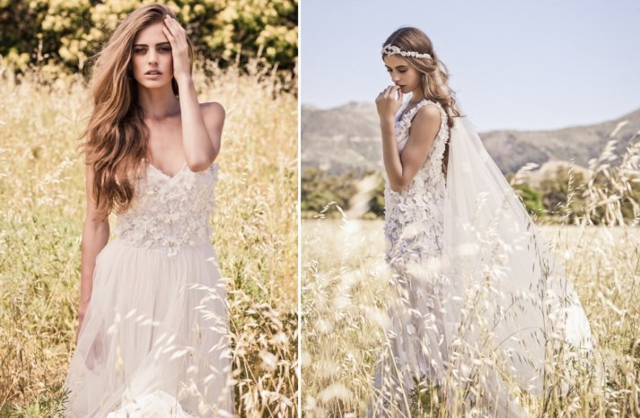 Bo and luca bohemian chic wedding dresses