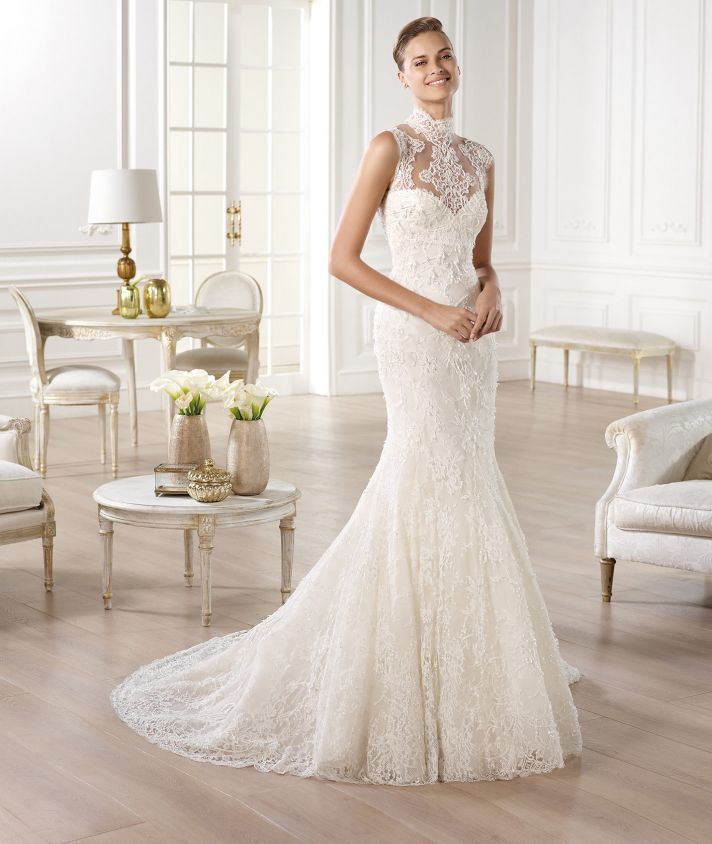 YEDIRA wedding dress from Pronovias Atelier 2014 Bridal