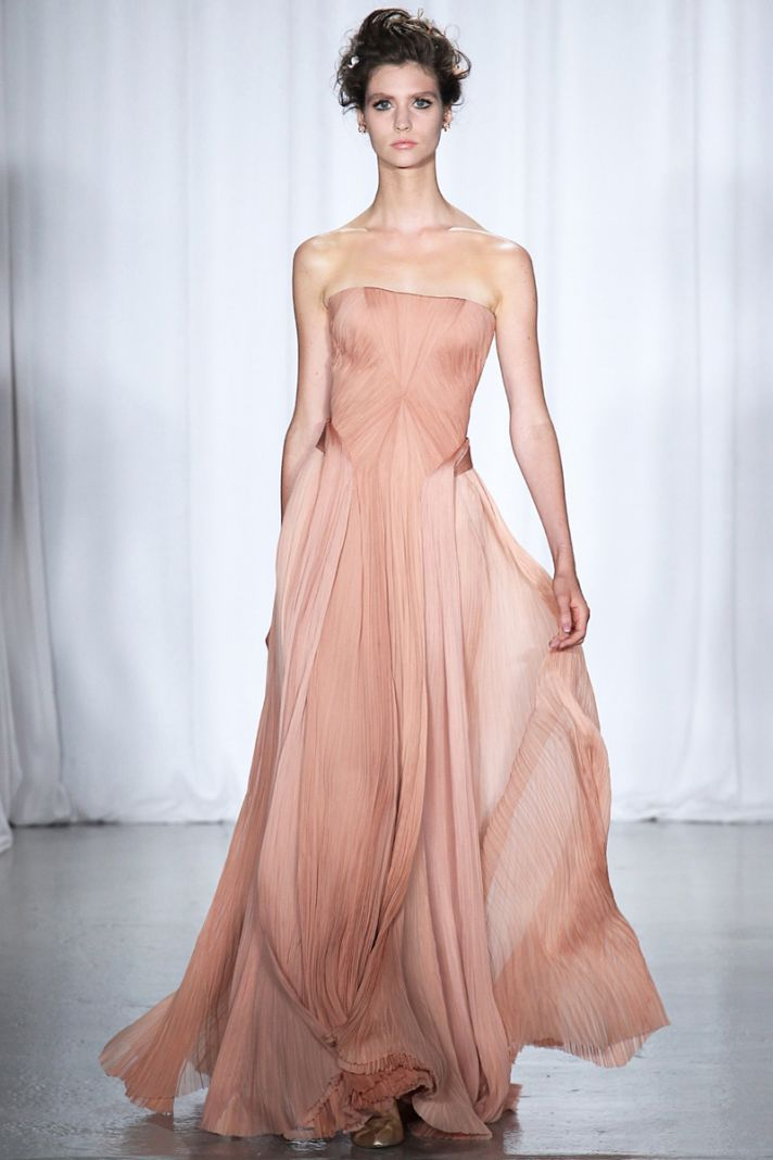 Spring 2014 RTW wedding worthy dresses Zac Posen