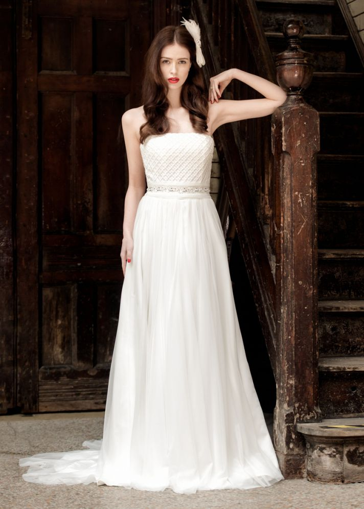 Holly wedding dress by Charlotte Balbier 2014 bridal