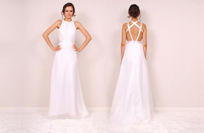 Lea wedding dress by Sunjin Lee 2014 bridal