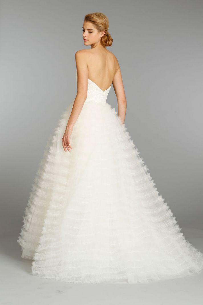 Jim Hjelm wedding dress fall 2013 bridal 8365