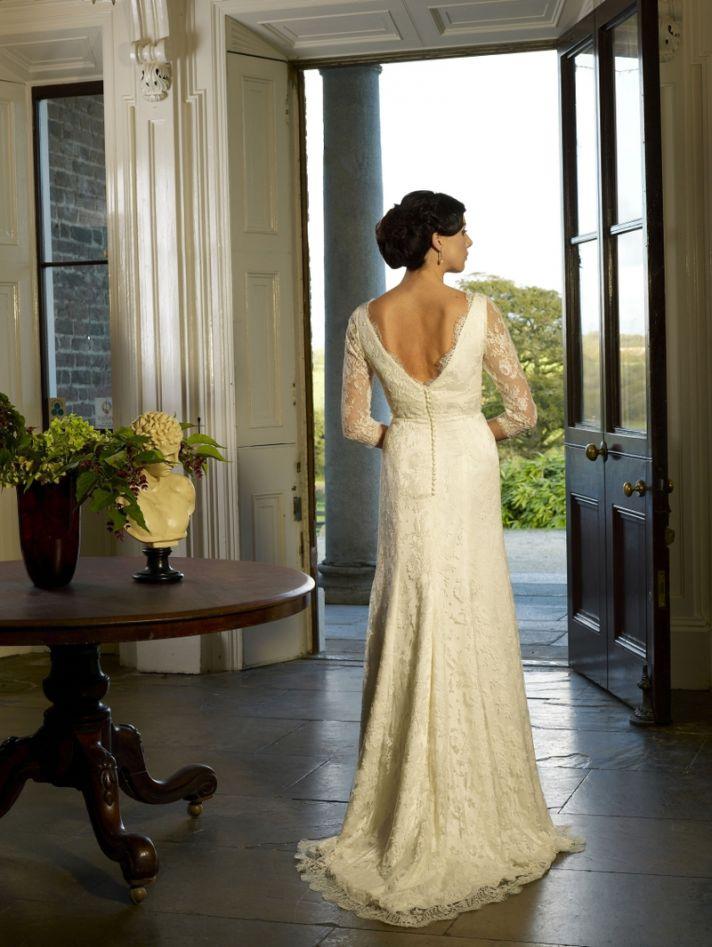 Suzannah wedding dress by Kathy de Stafford 2013 bridal