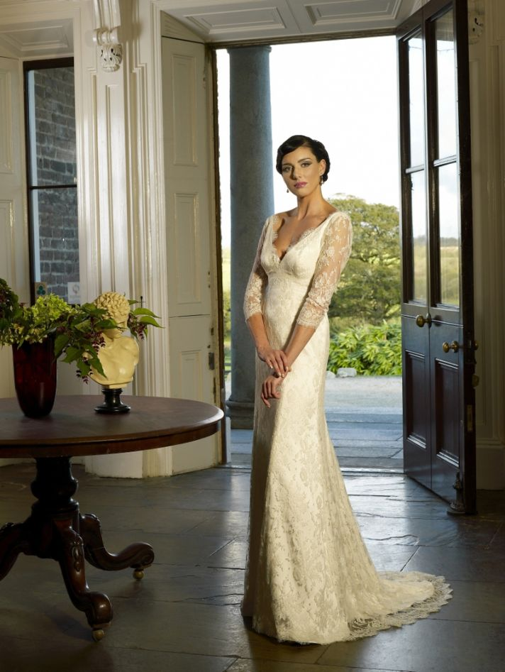 Suzannah wedding dress by Kathy de Stafford 2013 bridal