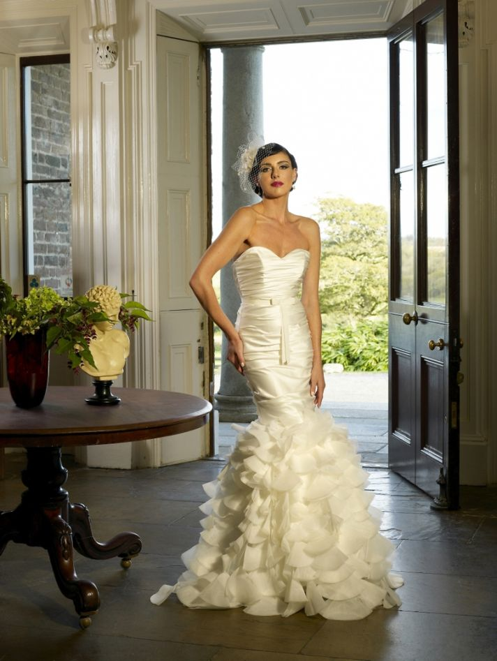 Salli wedding dress by Kathy de Stafford 2013 bridal
