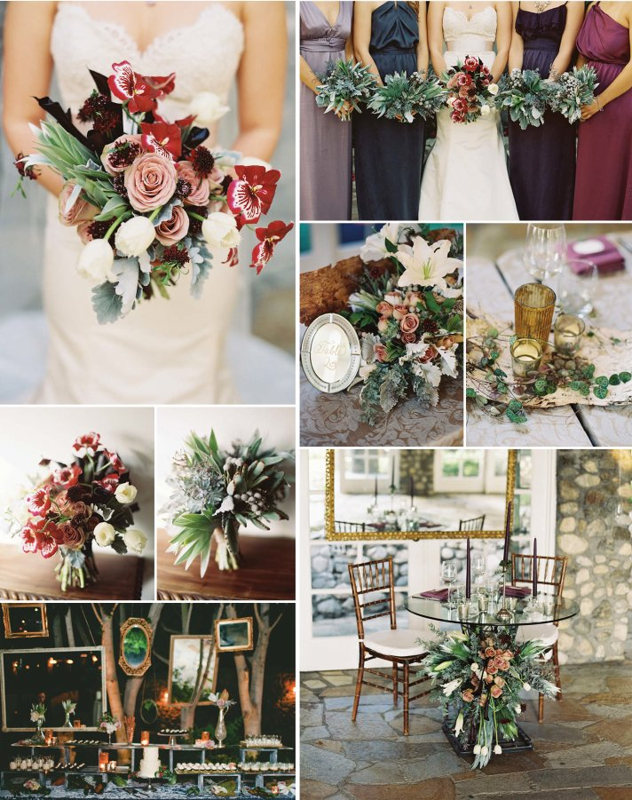 9 gorgeous wedding color palettes for autumn 10 wedding color palettes perfect for fall 1 junglespirit Image collections