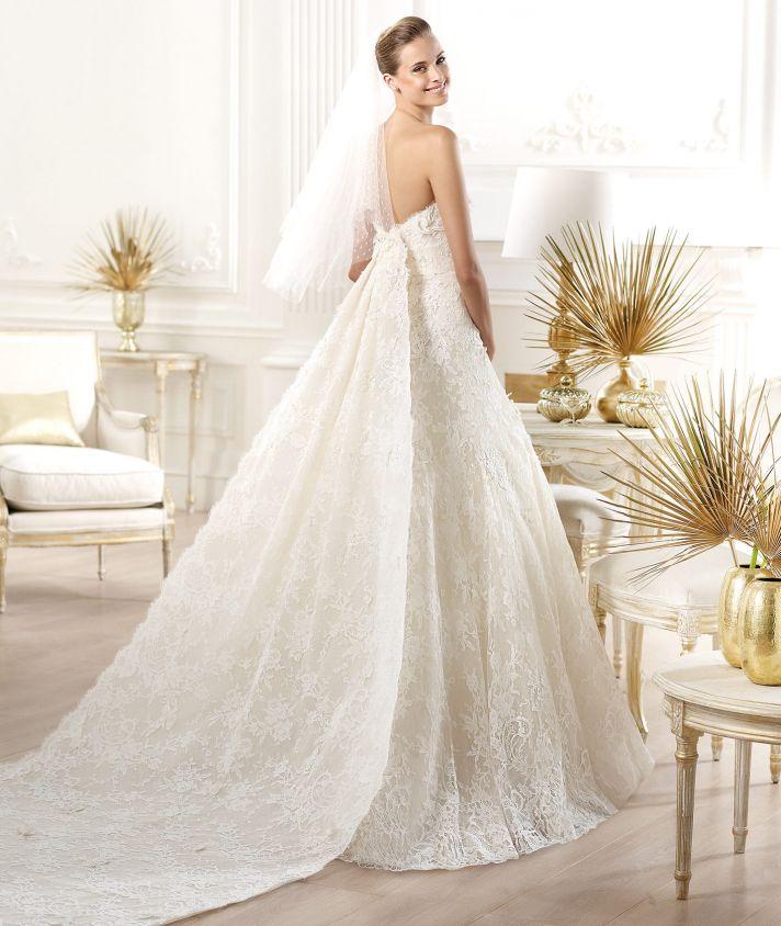 YESSEN wedding dress by Atelier Pronovias 2014 bridal