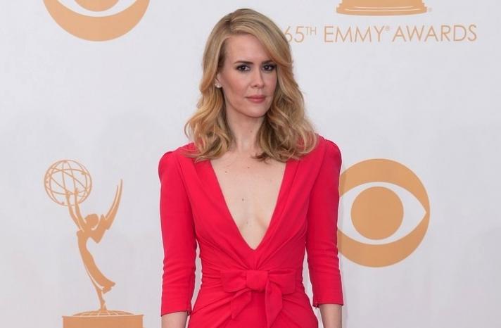 2013 Emmys wedding hair and makeup inspiration Sarah Paulson