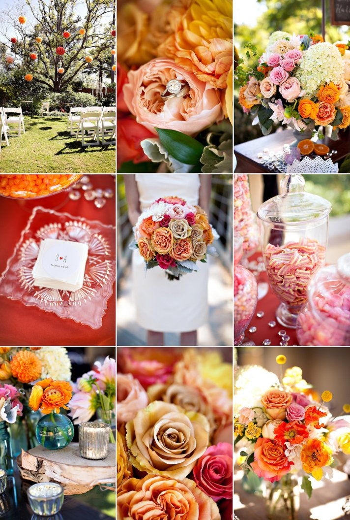 9 Gorgeous Wedding Color Palettes For Autumn Onewed