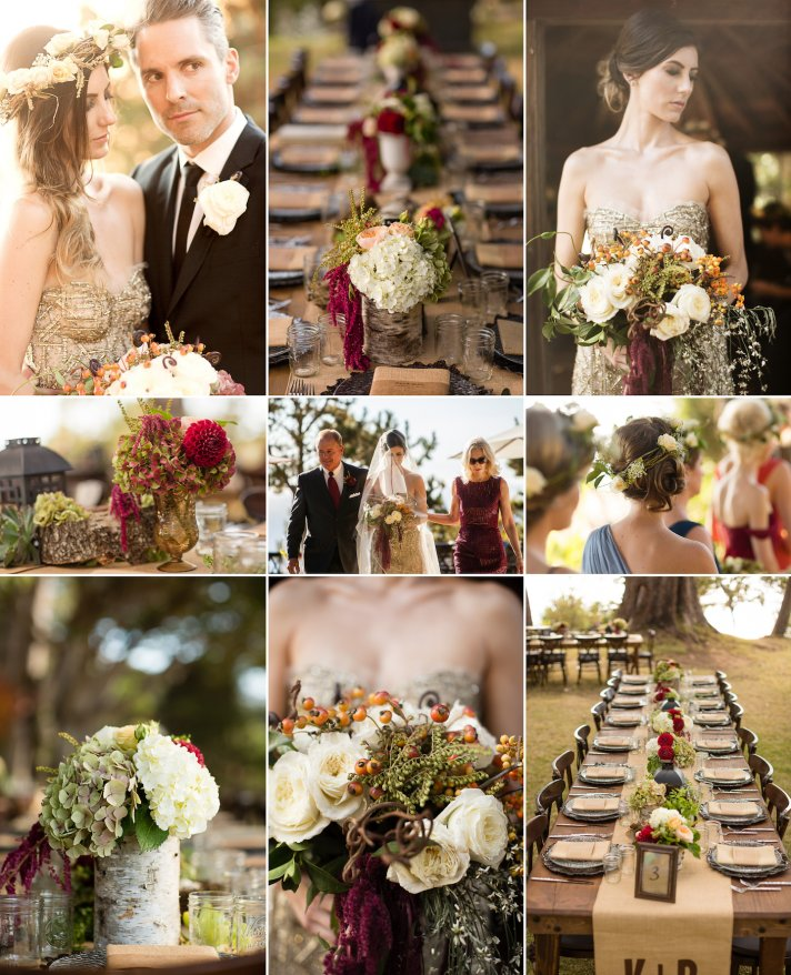 Wedding Ideas By Colour: 9 Gorgeous Wedding Color Palettes For Autumn