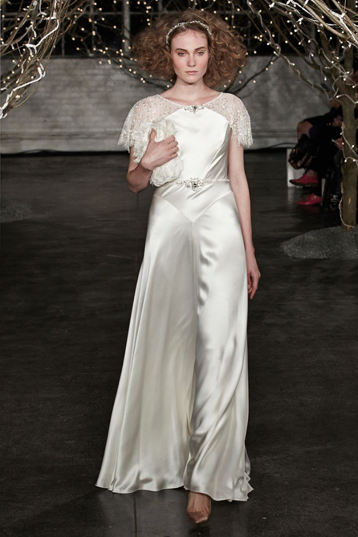Jenny Packham Spring 2014 wedding dress Old Hollywood Glam