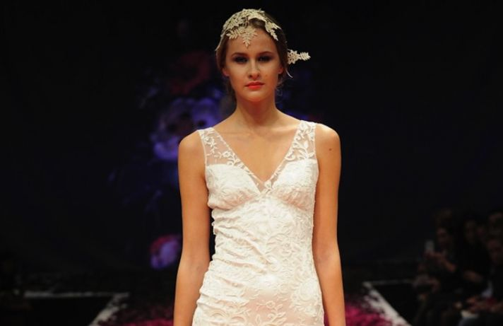 Claire Pettibone bridal runway fall 2014 4