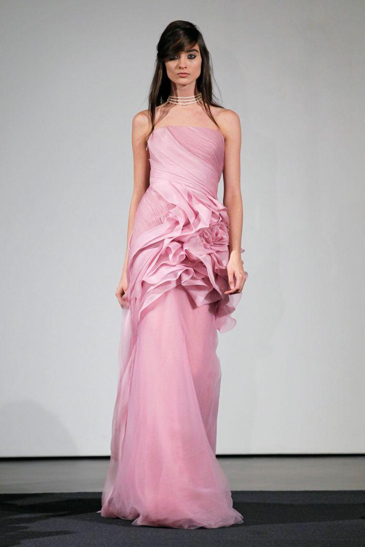 Wedding dress by Vera Wang Fall 2014 bridal collection 1