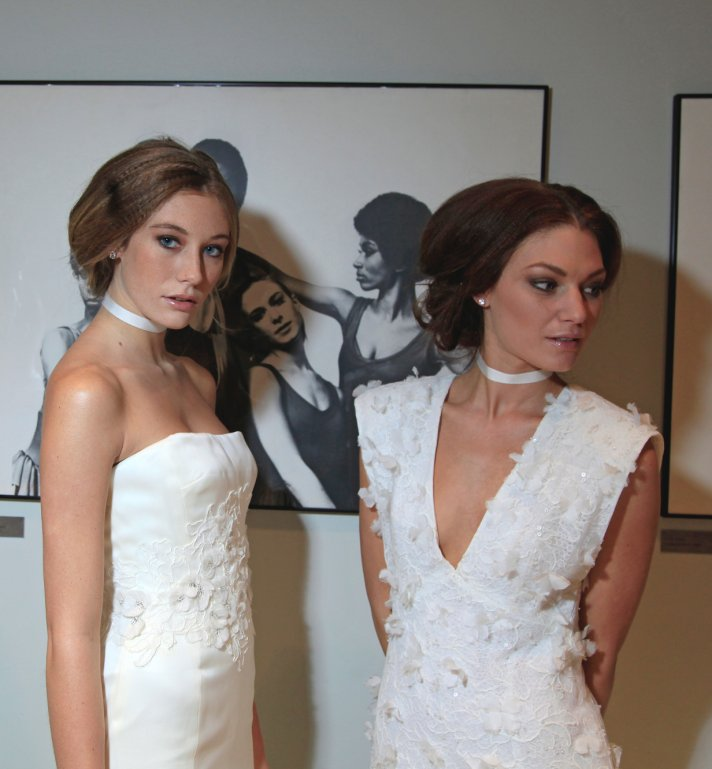 bridal makeup and hair from Rivini fall 2014
