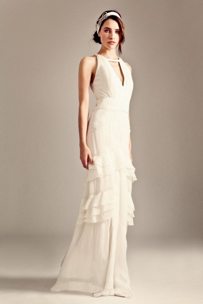 Marguerite wedding dress by Temperley London Fall 2014 bridal