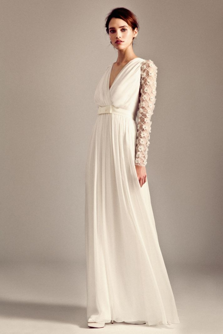 Leigh wedding dress by Temperley London Fall 2014 bridal