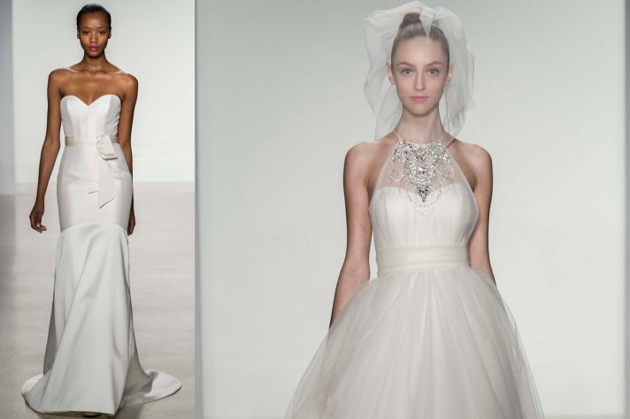 10 Divine Wedding Dresses from Amsale, Fall 2014