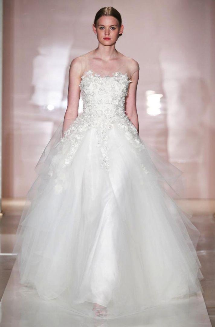 Lexa 2 wedding dress by Reem Acra Fall 2014 Bridal
