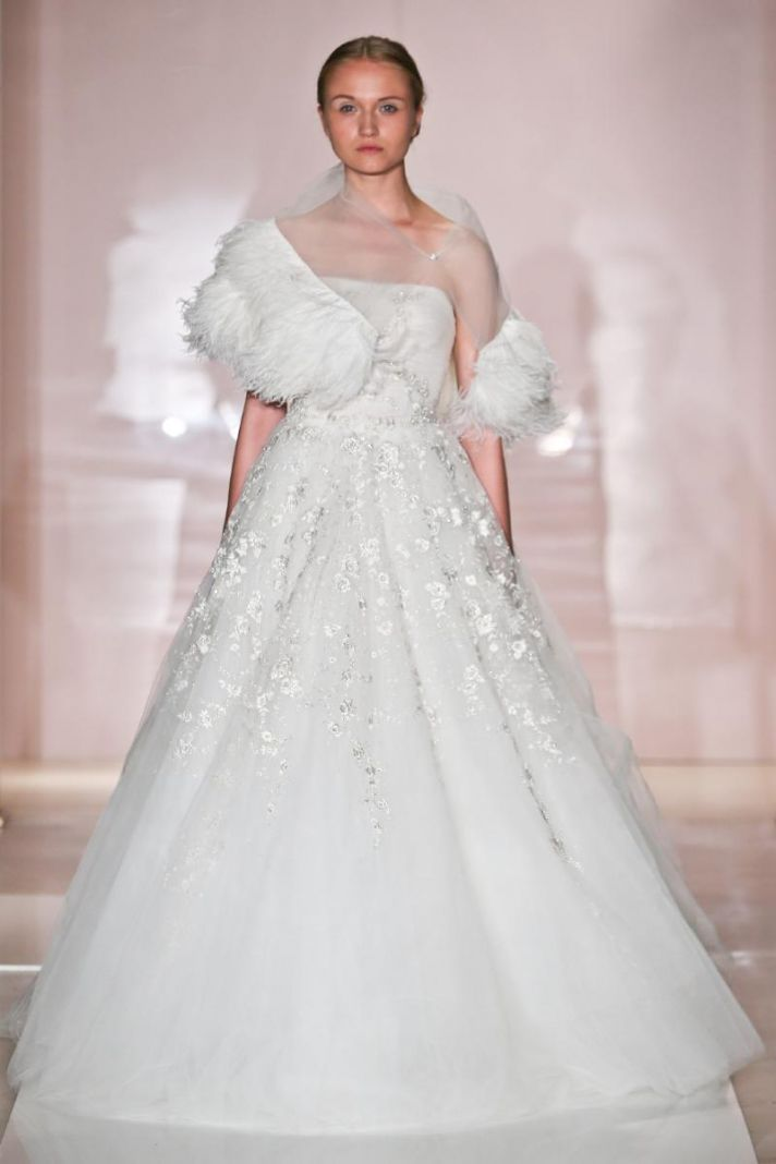 Emily 2 wedding dress by Reem Acra Fall 2014 Bridal