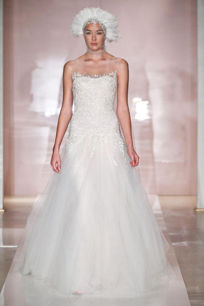 Loni wedding dress by Reem Acra Fall 2014 Bridal