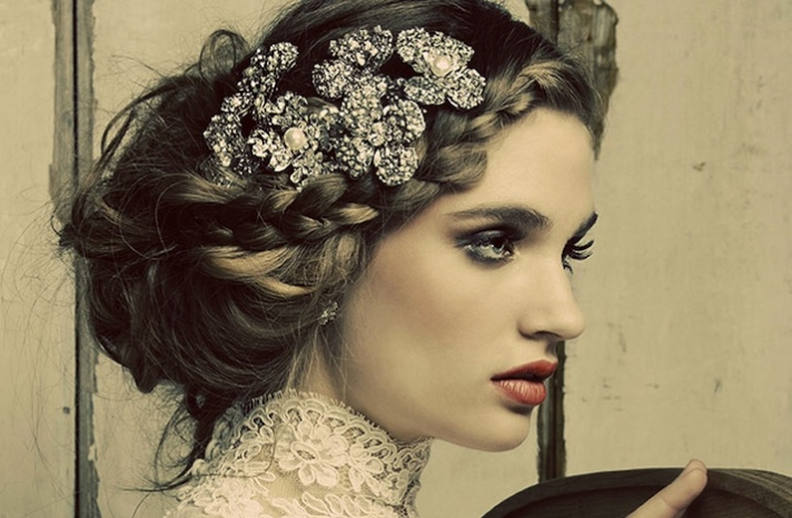 Beautiful Maria Elena Wedding Headpieces and Jewelry