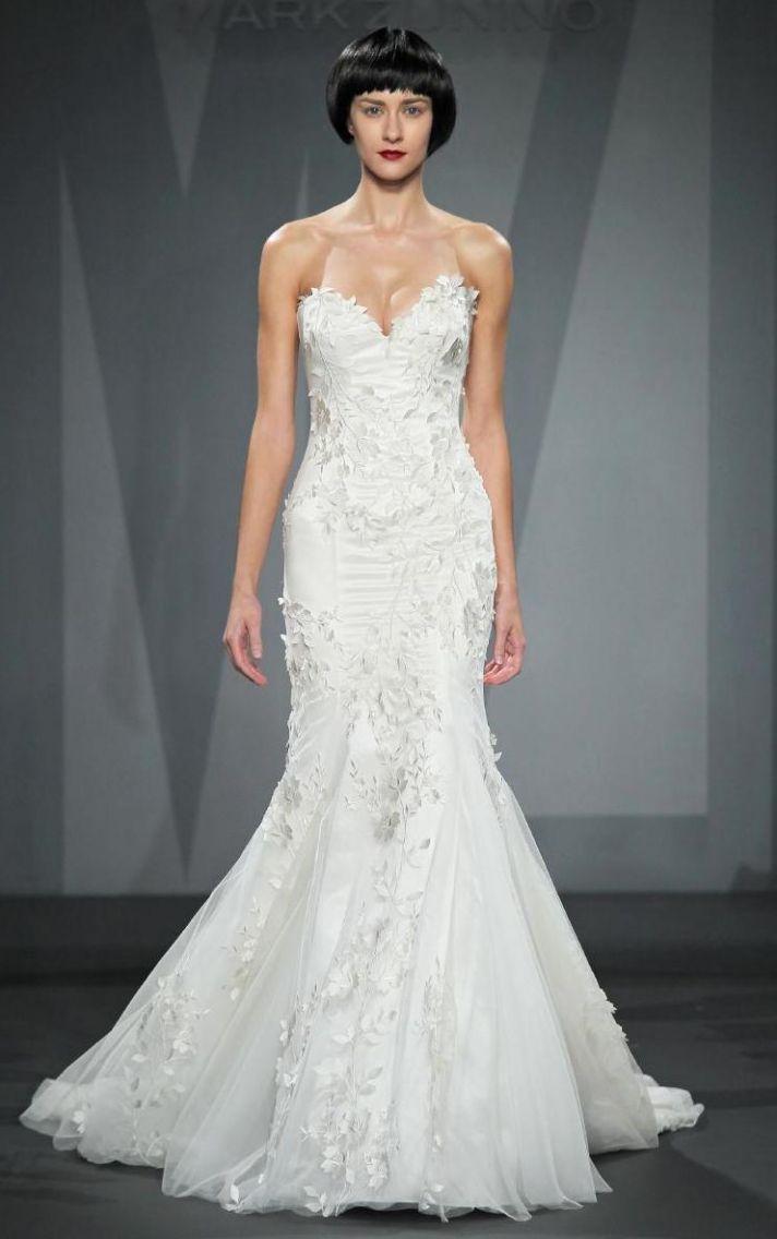 Mark Zunino wedding dress for Kleinfeld Fall 2014 Bridal 5