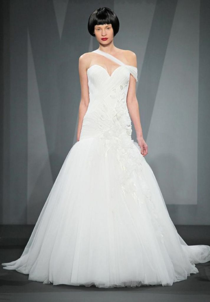 Mark Zunino wedding dress for Kleinfeld Fall 2014 Bridal 10