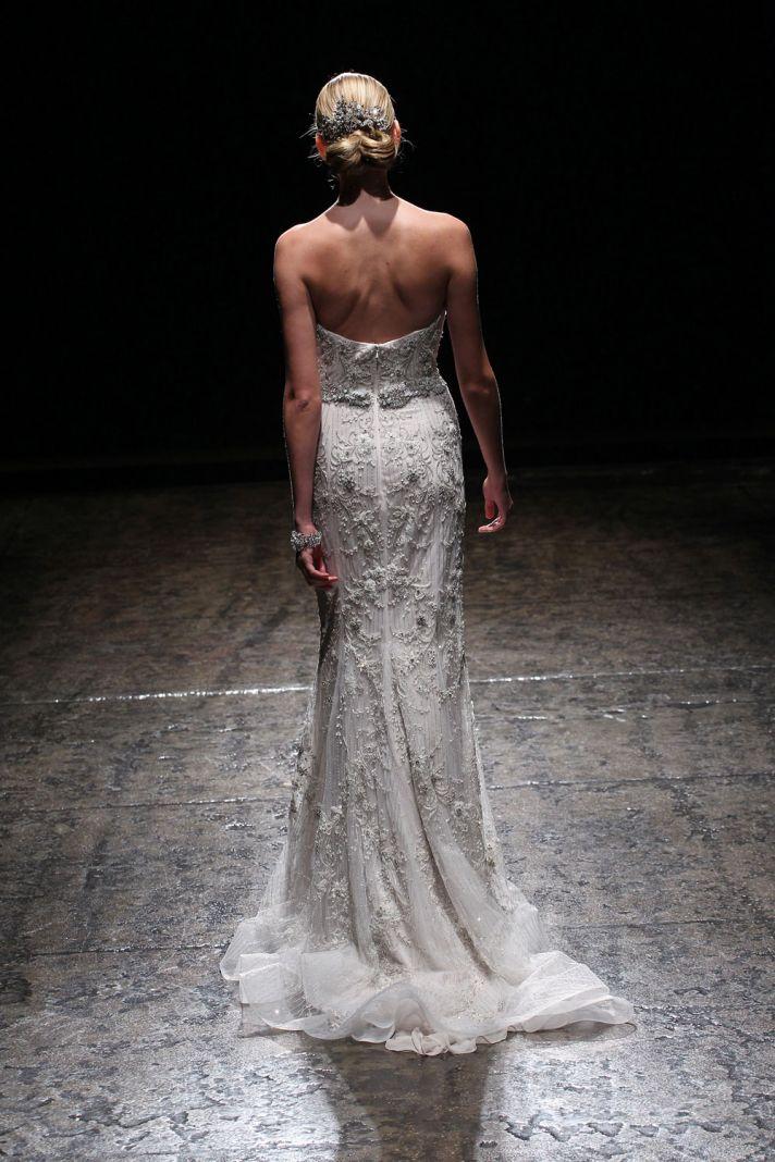 3411 wedding dress by Lazaro Spring 2014 Bridal