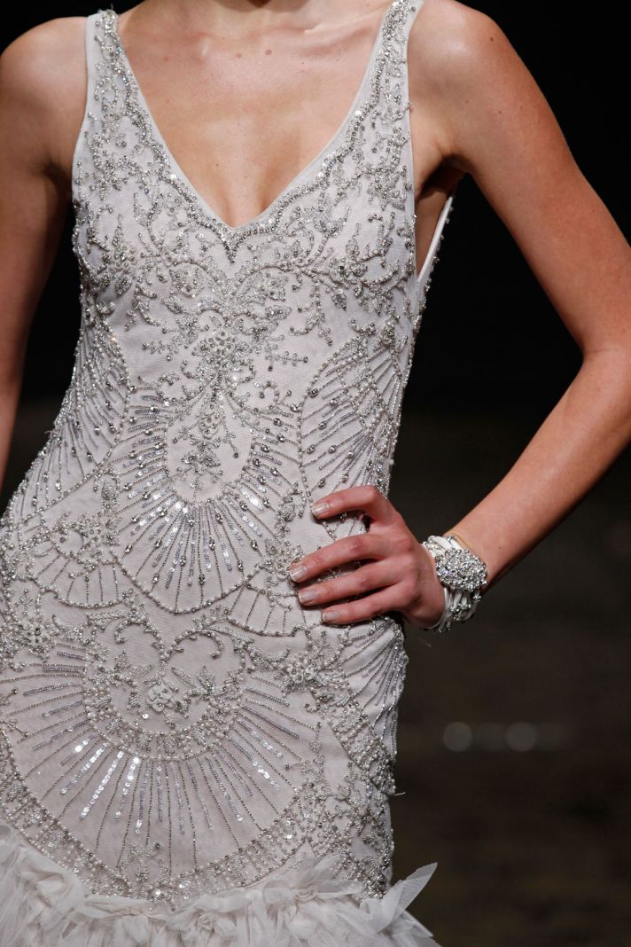 3406 wedding dress by Lazaro Spring 2014 Bridal