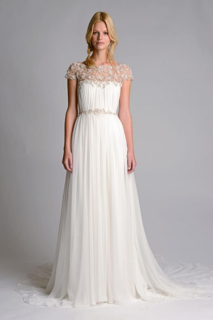 Ethereal new wedding dresses by marchesa onewed for Picture of a wedding dress
