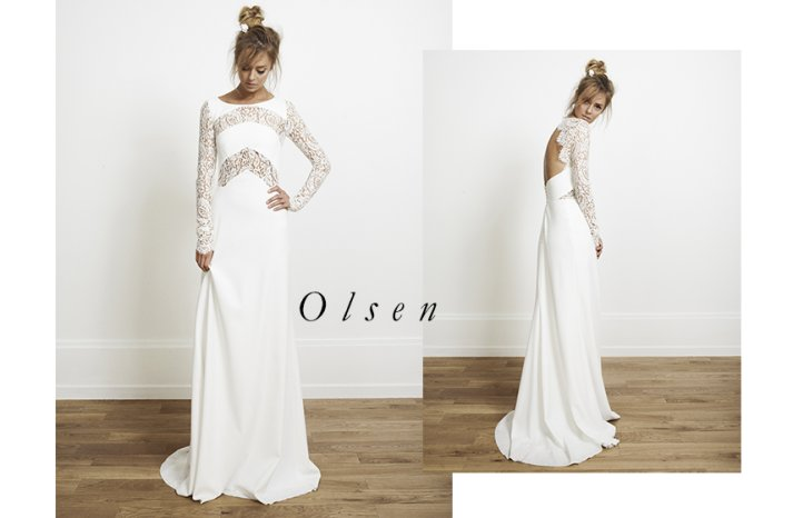 Olsen wedding dress by Rime Arodaky for Alternative Brides