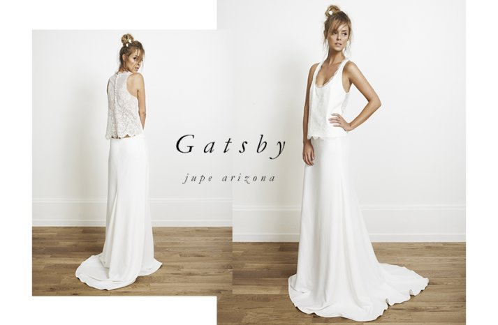 Gatsby wedding dress by Rime Arodaky for Alternative Brides