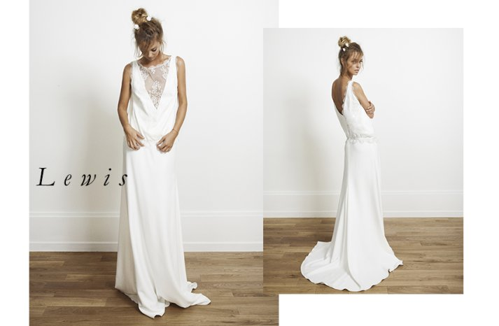 Lewis wedding dress by Rime Arodaky for Alternative Brides