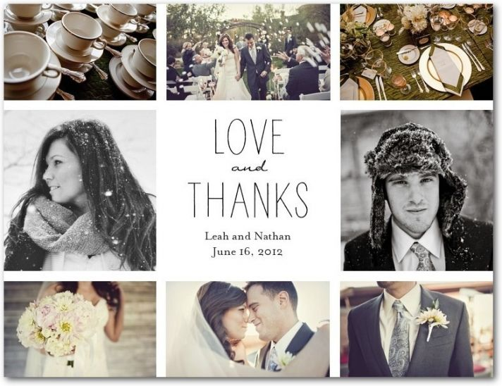 5 Ways to be Thankful – Thank You Cards After Wedding