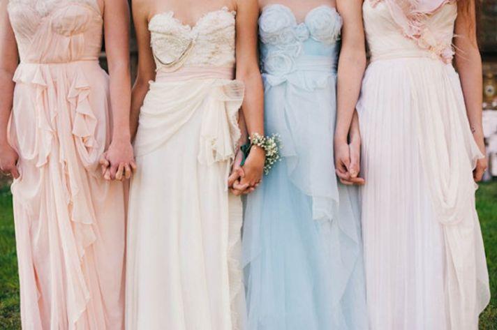 Alice in Wonderland Bridesmaids Dresses