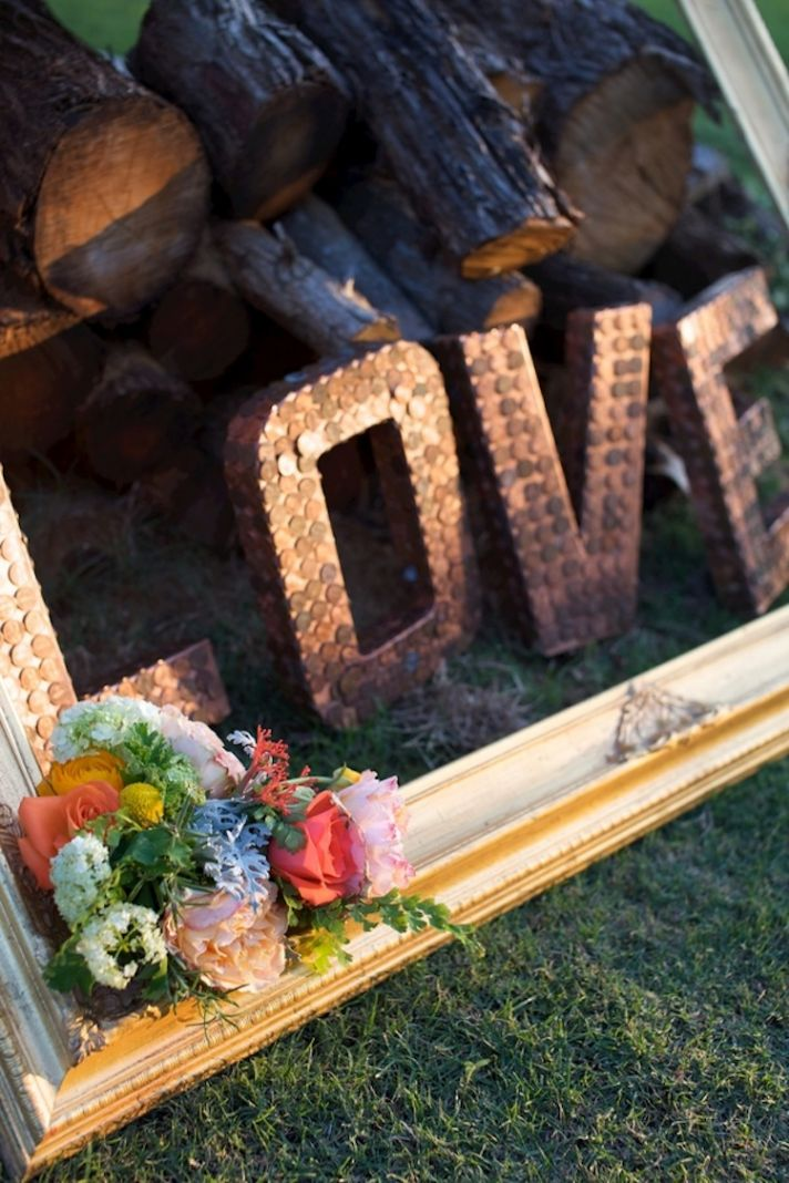 Love wedding decor