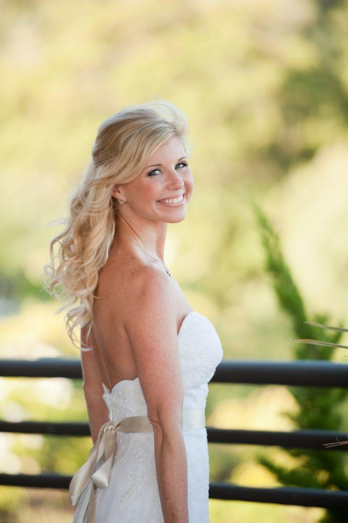 Bridal beauty in California