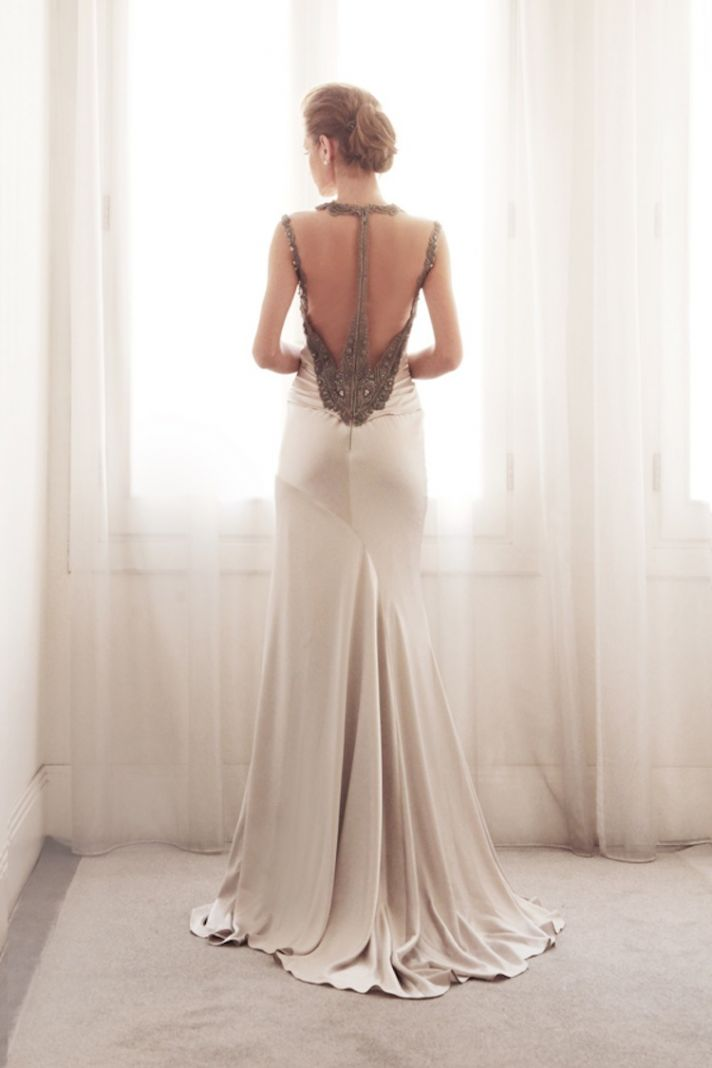 Vintage wedding gown by Gemy Bridal