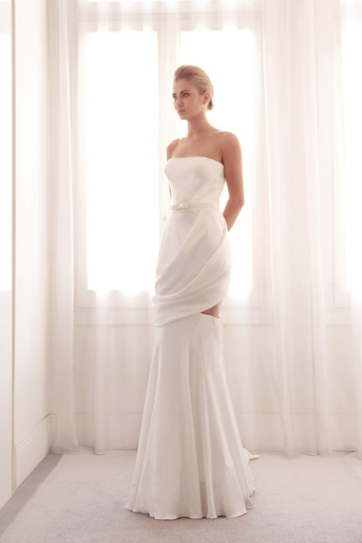 Unique wedding gown by Gemy Bridal