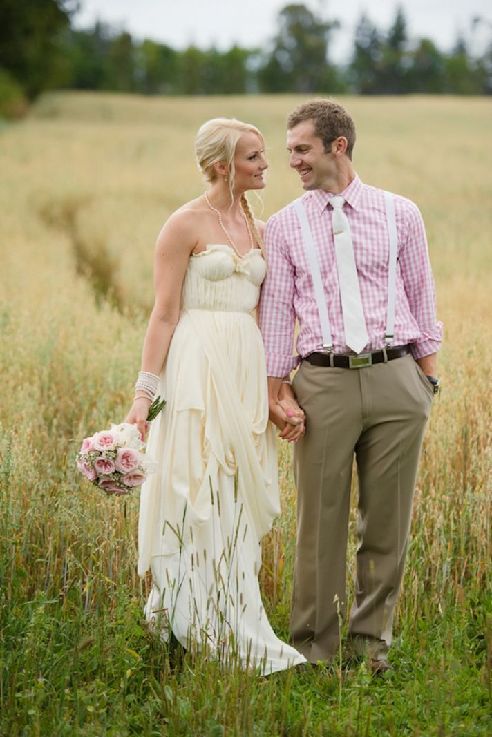 Rustic pretty in pink first look