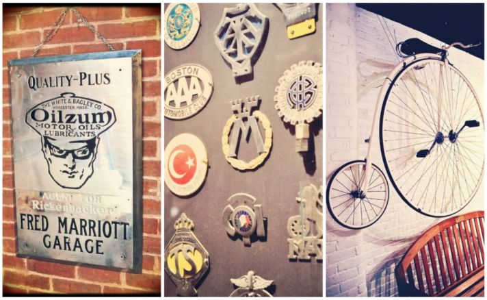 Antique automobile museum venue details