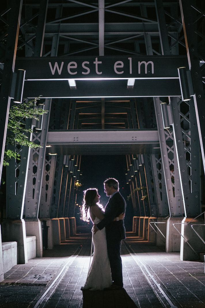 Urban real wedding photography