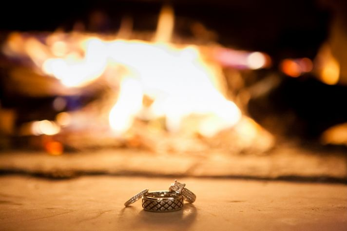 Rings in Front of Fire