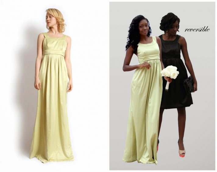 Pale Yellow to Bold Black