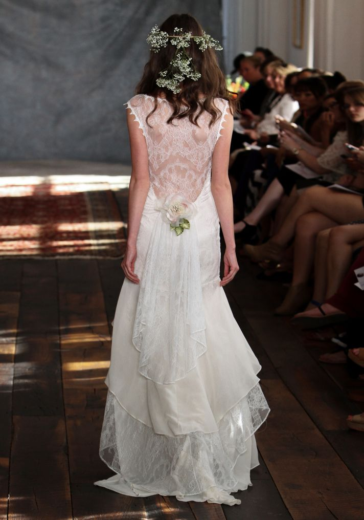 Seraphina Wedding Dress Back from Claire Pettibone s Romantique Collection